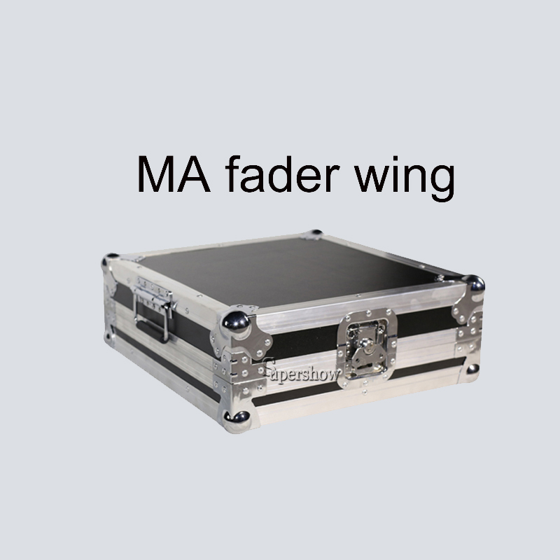 Professional MA Fader Wing Disco Party Stage Light Console With Flight Case