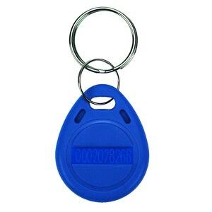 Image 5 - 100 قطعة Rfid علامة 125Khz القرب الأزرق اللون RFID بطاقة Keyfobs مفتاح فوب الوصول التحكم الذكية بطاقة شحن مجاني