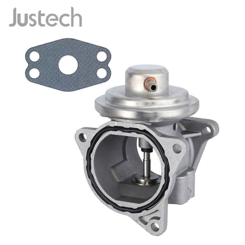 Justech EGR Valve With Gasket For AUDI VW Golf Touran Jetta Passat SEAT SKODA 1.9 2.0 TDI <font><b>038131501AN</b></font> 038131501AF image