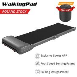 В наличии WalkingPad C1 фитнес прогулочная машина складное электрическое оборудование для тренажерного зала управление приложением