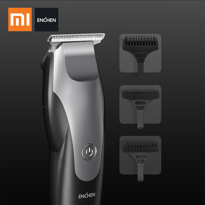 Xiaomi ENCHEN Humming Bird Professional Hair Trimmer Men's Electric Hair Clipper USB Rechargeable Hair Cutter Adult Razor