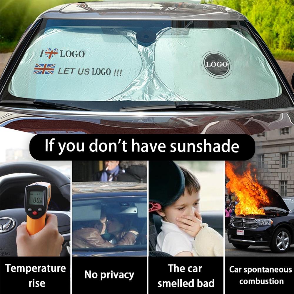 Солнцезащитный козырек на лобовое стекло автомобиля защита от