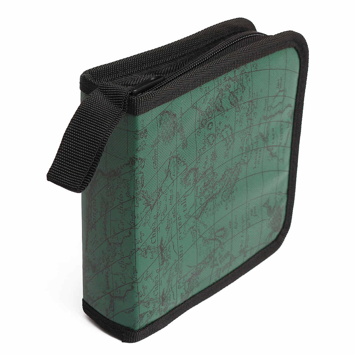 40 דיסק לשאת תיבת בעל חבילה רכב אחסון תיק מקרה אלבום DVD CD ארגונית מגן כיסוי בית מפת פס