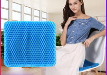 Breathable Silicone Cushion Honeycomb Car Seat Cushion Breathable Cushion Multifunctional Ice Pad Cool Pad
