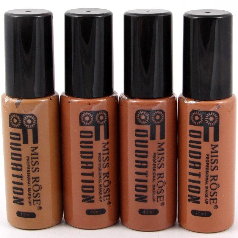 Corrector Nude Natural cara líquido Fundación primer maquillaje de belleza crema hidratante líquido de la cubierta completa corrector Facial Base de la Fundación - 3