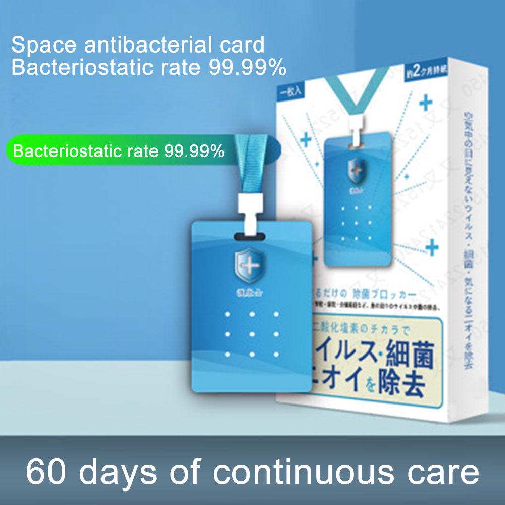 3pcs Sterilization Card Sodium Chlorite Portable Disinfection Card Children Sterilization Protective Tool Prevent Mold Growth