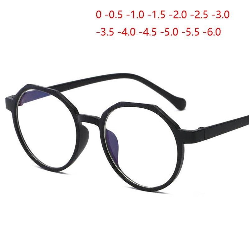 Óculos de miopia lente miopia óculos de visão 0 -0.5 -1.0 -1.5 para-6.0
