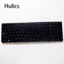 Hulics для ноутбука Acer Aspire 7741 7741G 7741Z 7745G 7745Z 7735 7739 8942 8942G 7551 7551G Клавиатура ноутбука AEY8K00020 подсветка, черный цвет