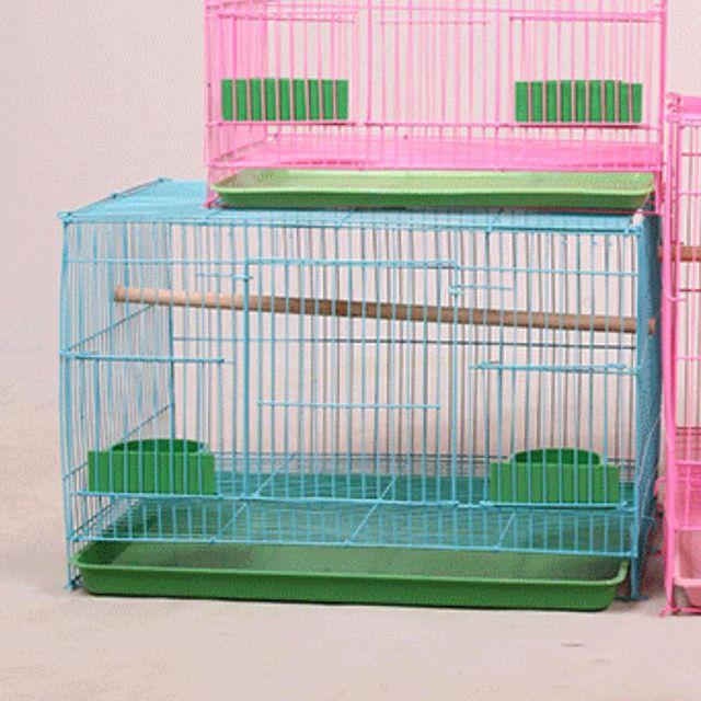 Wire Rectangular Bird Cage 4