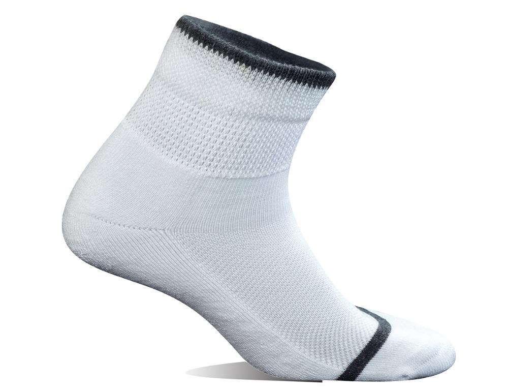 Yomandamor Men's 5 Pairs Bamboo Non-binding Cushioned Walking Socks Breathable Casual Seamless Socks