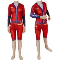 Game Sun Strider Skin Cosplay Costume Zentai Bodysuit Suit Jumpsuits Halloween
