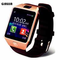 Reloj inteligente DZ09, pulsera deportiva con Bluetooth, compatible con tarjeta TF, SIM, cámara, para Samsung, Huawei, Xiaomi, teléfono Android