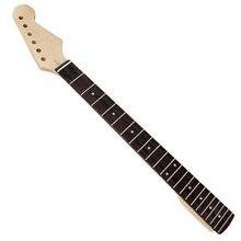 Новый деревянный Гриф для гитары с точкой сменный фиксатор электрогитары