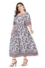 Винтажное платье с принтом в виде винтов коротким рукавом и
