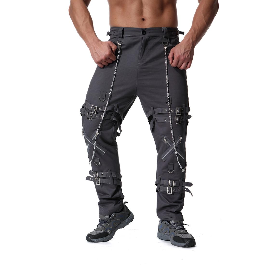 Pantalones para hombre, pantalones de chándal, pantalones de chándal, pantalones para hombre, hip hop, Camuflaje, pantalones tácticos de carga, Militar - 4