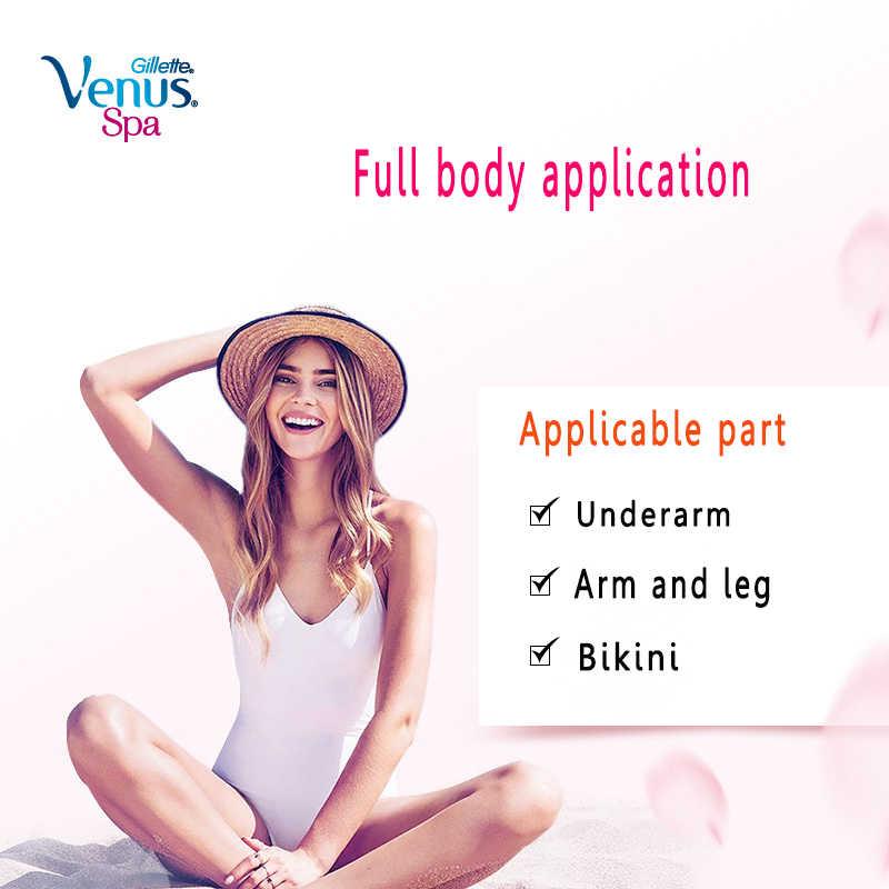 Gillette Venus maszynka do golenia Razor kobiet żyletki bezpieczeństwa kobiet do golenia do usuwania włosów maszynki do golenia instrukcja pani maszyna do golenia