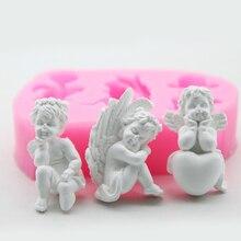1 шт 3 стиля формы для маленьких ангелов силиконовые инструменты