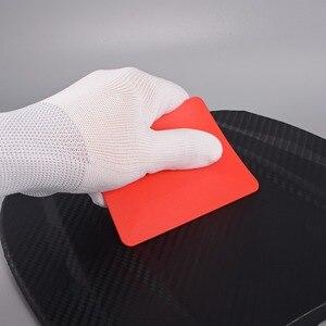 Image 3 - Ehdis 6Pcs Window Wassen Card Plastic Schraper Vinyl Film Wikkelen Zachte Zuigmond Koolstofvezel Tint Sticker Remover Schone Auto gereedschap