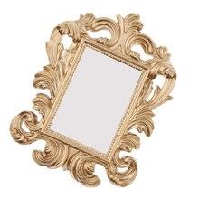 Marco de la foto del soporte de la resina del oro-marco de la foto del estilo del Vintage boda decoración del hogar fiesta nupcial marco del aniversario