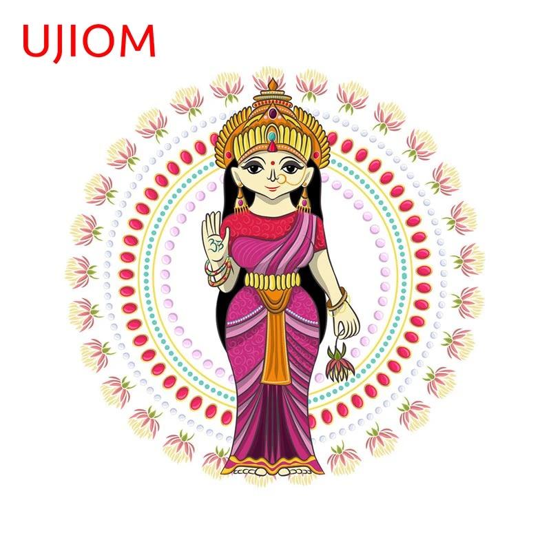 UJIOM Indian God Door Sticker Children's Bedroom Decoration Vinyl