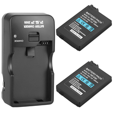 2 stuks Geschikt voor Sony PSP2000 PSP3000 PSP 2000 PSP 3000 2400mAh Vervangende Batterij Voor PlayStation Portable Controller en ch