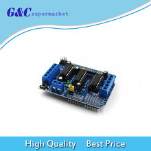 Интегральные схемы щит привода двигателя l293d модуль для arduino