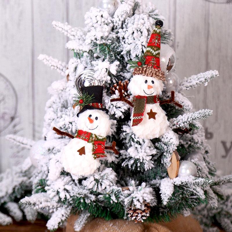 New Christmas Items 2020 2020 Hanging Christmas snowman DIY Christmas Decorations for Home