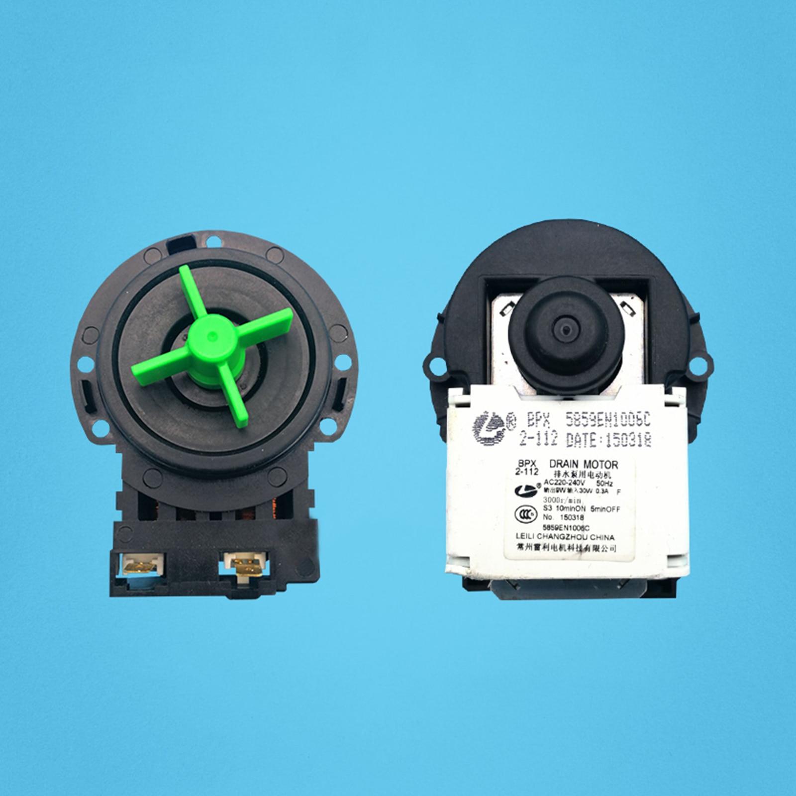 1PC Afvoer Pomp Motor Vervanging BPX2-8 BPX2-7 BPX2-32 Motor voor LG Drum Wasmachine Onderdelen Hoge Kwaliteit