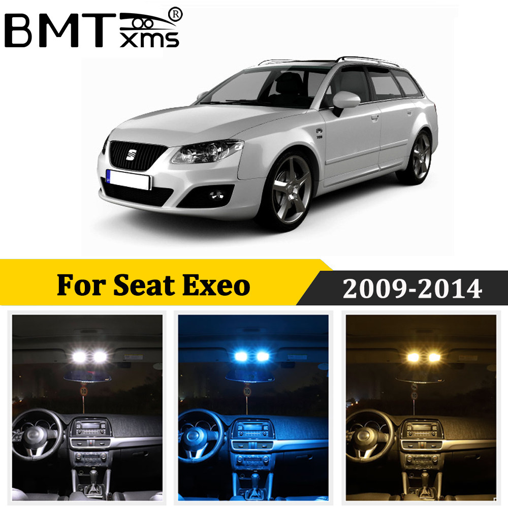 Seat Exeo 3R2 8SMD LED Error Free Canbus Side Light Beam Bulbs Pair Upgrade
