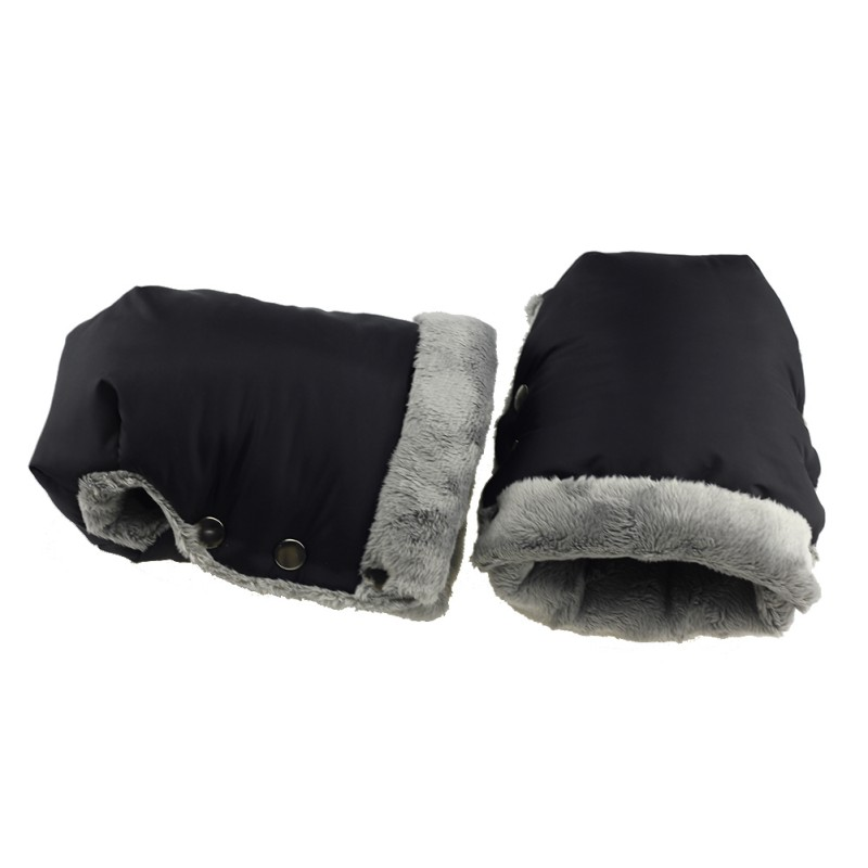 Winter Mitten Baby Buggy Clutch Warm Stroller Gloves Kids Pushchair Hand Muff Waterproof Pram Accessory Cart Outdoor Glove Fall