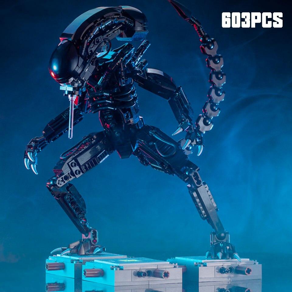 moc-27578-movie-series-aliens-vs-predator-mech-model-building-blocks-bricks-compatible-legoinglys-font-b-starwars-b-font-toys-children-gift