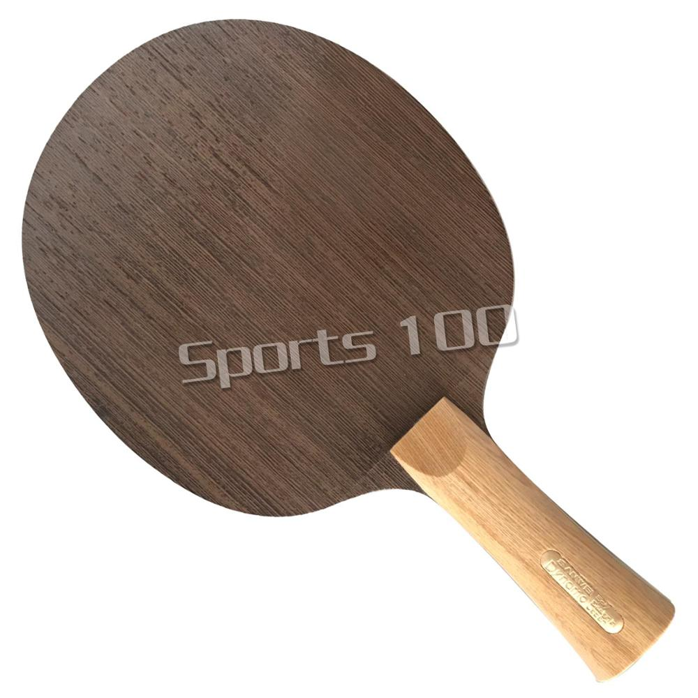 Sanwei DYNAMO 5 Ply Wood, Cypress Handle, Light & Fast Table Tennis Ping Pong Blade