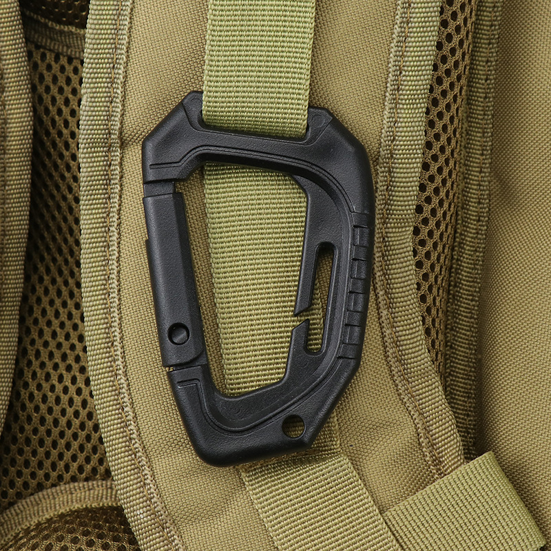 Открытый карабиновая альпинистская Пряжка светильник среднего тактического Пластиковые D-кнопка альпинистская Сумка внешний подвесной кл...