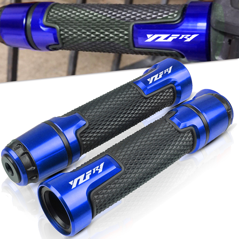 Motorcycle handlebar handles grips ends For <font><b>YAMAHA</b></font> YZF <font><b>R1</b></font> YZF-<font><b>R1</b></font> 2004 2005 2006 2007 2008 <font><b>2009</b></font> 2010 2011 2012 2015 2016 2017 image