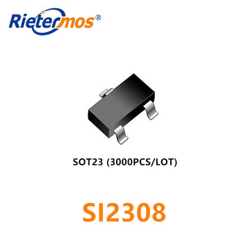 3000PCS SI2308 SOT23 N-CHANNEL 3A60V HIGH QUALITY