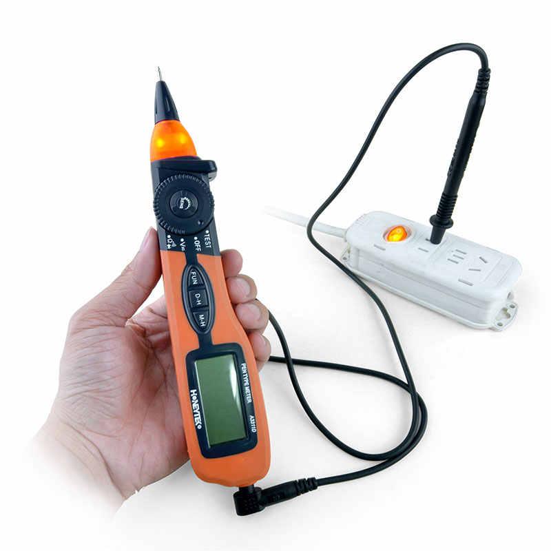 미니 포켓 고품질 펜 멀티 미터 테스터 미터 자동 범위 디지털 멀티 미터 AC/DC 전압 검출기 멀티 미터 A3311D