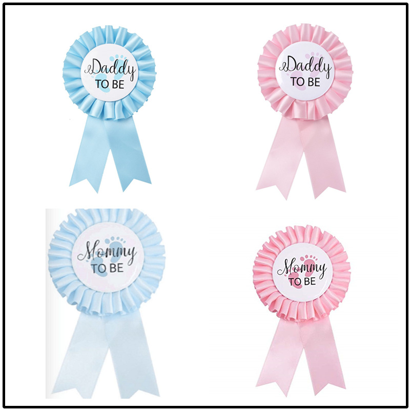Cute as a Button Baby Shower Christening Birthday Blue Its a Boy Party Confetti