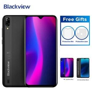 Image 3 - Blackview A60 3G Handy Android 8,1 Smartphone Quad Core 4080mAh Handy 1GB + 16GB 6,1 zoll 19.2:9 bildschirm Dual Kamera