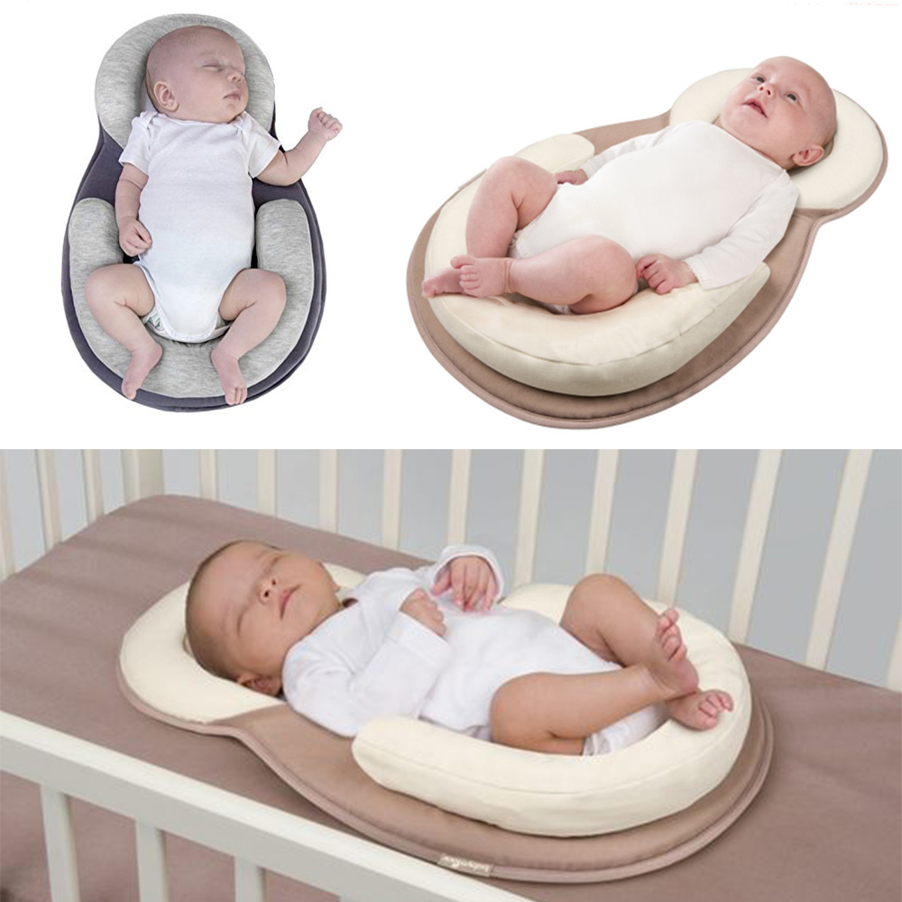 Portable Baby Crib Nursery Travel Folding Baby Bed Infant Toddler Cradle Shaping Pillows For Baby Care Nest For Newborns Kid Cot