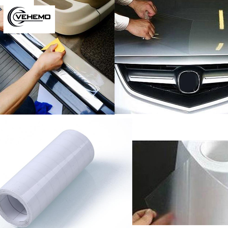 50 Metres of Transparent,Clear-Car Protective Film Vinyl Sticker-Paint Protector