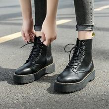 Autumn Winter Ankle Boots Women Platform Boots