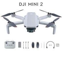 Dji mini 2 mavic mini 2 zangão quadcopter menos de 249g 31 minutos de tempo de vôo 10km 4k nível de transmissão vídeo 5 resistência ao vento