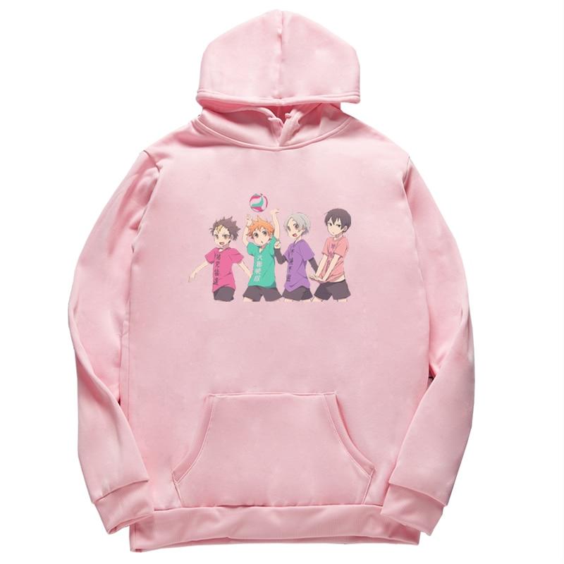 Unisex Haikyuu Printed New Casual Hoodie student popular Sports Hooded Men sweatershirt Hoodie size XS-4XL