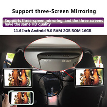 Car-Headrest Monitor 4k Android 1080P 2GB 16GB Same Usb/sd/hdmi-/..