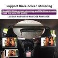 32956364523 - Monitor para reposacabezas de coche 4K 11,6 P, con Android 9,0, 2GB + 16GB, pantalla con WIFI, Bluetooth, USB, SD, HDMI, FM, mirrorlink, Miracast