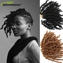 Short Synthetic-Hair-Extensions Crochet Dreadlocks Braiding Faux-Locs Hair-Reshowbeauty