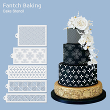 2020new Classical Totem Lace Stencil Wedding Cake Design Plastic Template Mold Painting Decorating Bottle Fondant Tools Bakeware