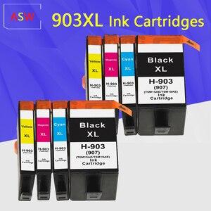 Совместимый чернильный картридж для HP 903 907 903XL 907XL для HP 903XL для HP 907XL OfficeJet 6950 6960 6961 6963 6964 6965 6970 6975