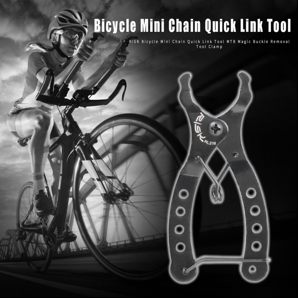 RISK Bicycle Chain Quick Link Tool Bike Magic Buckle Removal Installation Clamp