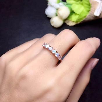 Free shipping Natural Moonstone ring 925 sterling silver  Fine jewelry For men or women